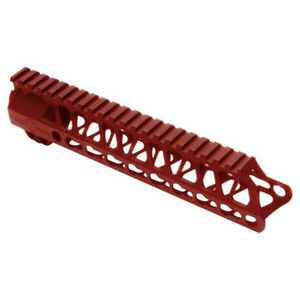 Timber Creek Outdoors Enforcer 9 Inch Hand Guard M-LOK Red Anodized M E9 HG R