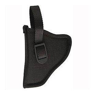 "Sidekick Hip Holster Medium and Large Frame Autos 3-1/4"" to 3-3/4"" Barrels Size 16 Left Hand Nylon Black"