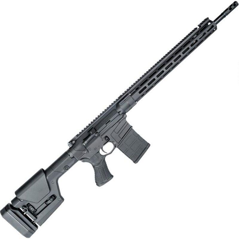 "Savage Arms MSR 10 Long Range AR Style Semi Auto Rifle 6mm Creedmoor 22"" Barrel 10 Rounds Free Float M-LOK Hand Guard Magpul PRS Gen3 Stock Matte Black"