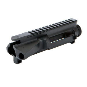 Midwest Industries AR-15 Billet Stripped Upper Receiver M4 Ramps Aluminum Black MI-AR15-UPPER