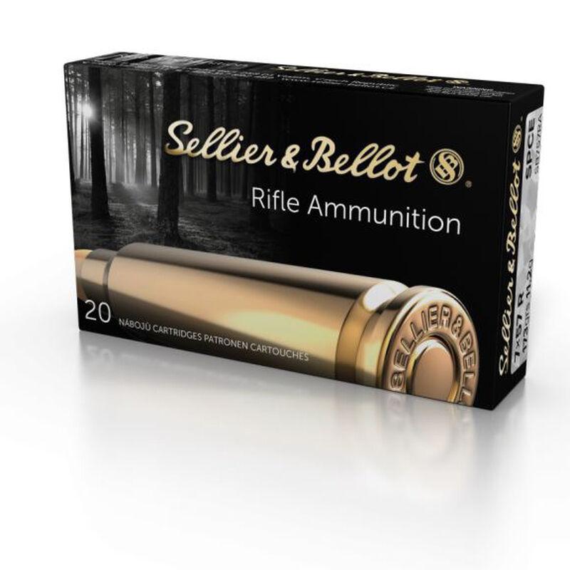 Sellier & Bellot 7x57mmR Mauser Ammunition 400 Rounds SPCE 173 Grains SB757RA