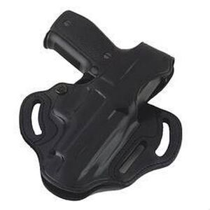 Galco Cop 3-Slot Belt Holster SIG P220/P226 and Browning BDA Right Handed Thumb Break Leather Black