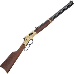 "Henry Big Boy Deluxe 3rd Edition Lever Action Rifle .44 Mag 20"" Barrel 10 Rounds Brass Engraved Receiver Walnut Stock Limited Edition Blued H006D3"