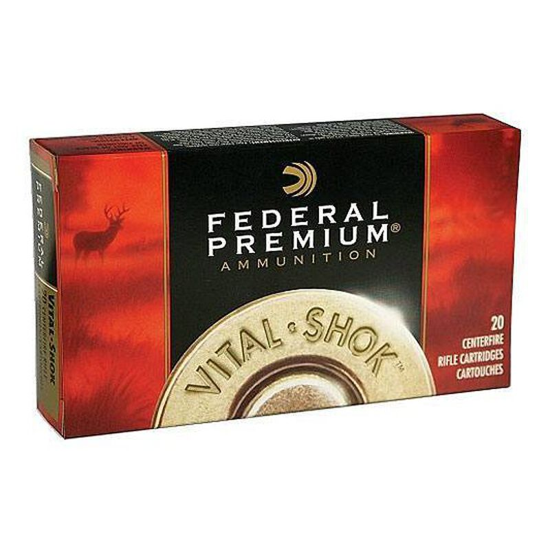 Ammo  243 Win Federal Vital-Shok 85 Grain Sierra GameKing BTHP 3300 fps 20  Round Box P243D