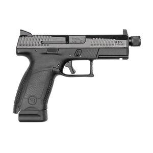 "CZ P-10 C Suppressor-Ready 9mm Semi Auto Pistol 4.61"" Theaded Barrel 17 Rounds High Night Sights Matte Black"