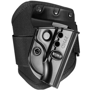 Fobus E2 Ankle Holster Walther PP/PPK/PPKS Right Hand Polymer Black PPKE2A