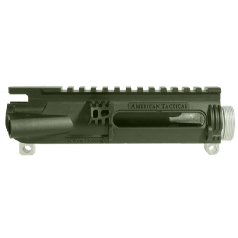 American Tactical Imports AR-15 Omni Hybrid Maxx Stripped Upper Receiver Multi Caliber Metal Reinforced Polymer Construction Battlefield Green