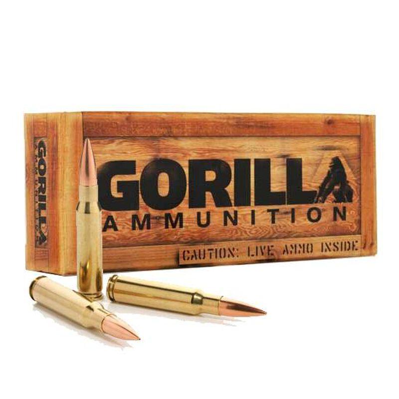 Gorilla Ammunition .308 Winchester Ammunition 20 Rounds Sierra BTHP 175 Grains GA308175SMK