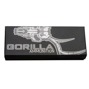 Gorilla Ammunition .300 AAC Blackout Ammunition 20 Rounds 115 Grain Solid Copper Lehigh Controlled Chaos Pig Punisher Lead Free Projectile 2310fps