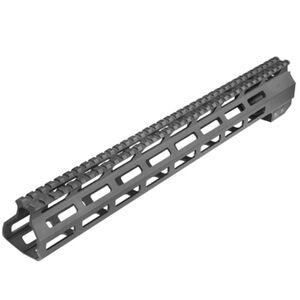 "AIM Sports DPMS .308 Low Profile Free Float 15"" M-Lok Handguard Aluminum Black"