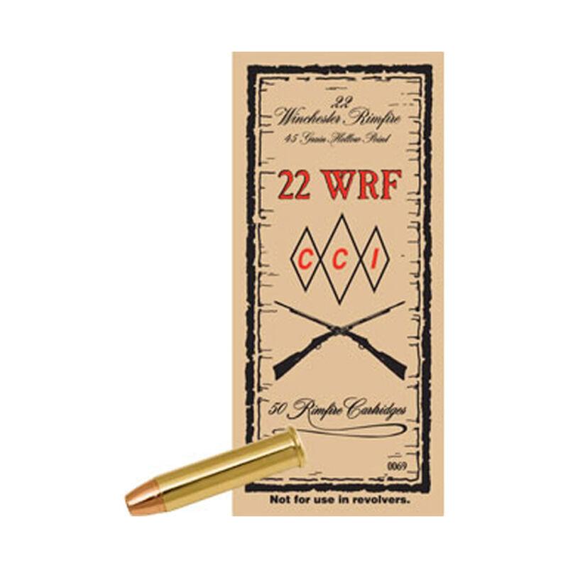 CCI .22 Winchester Rimfire Ammunition 2,000 Rounds JHP 45 Grain 1,300 Feet Per Second