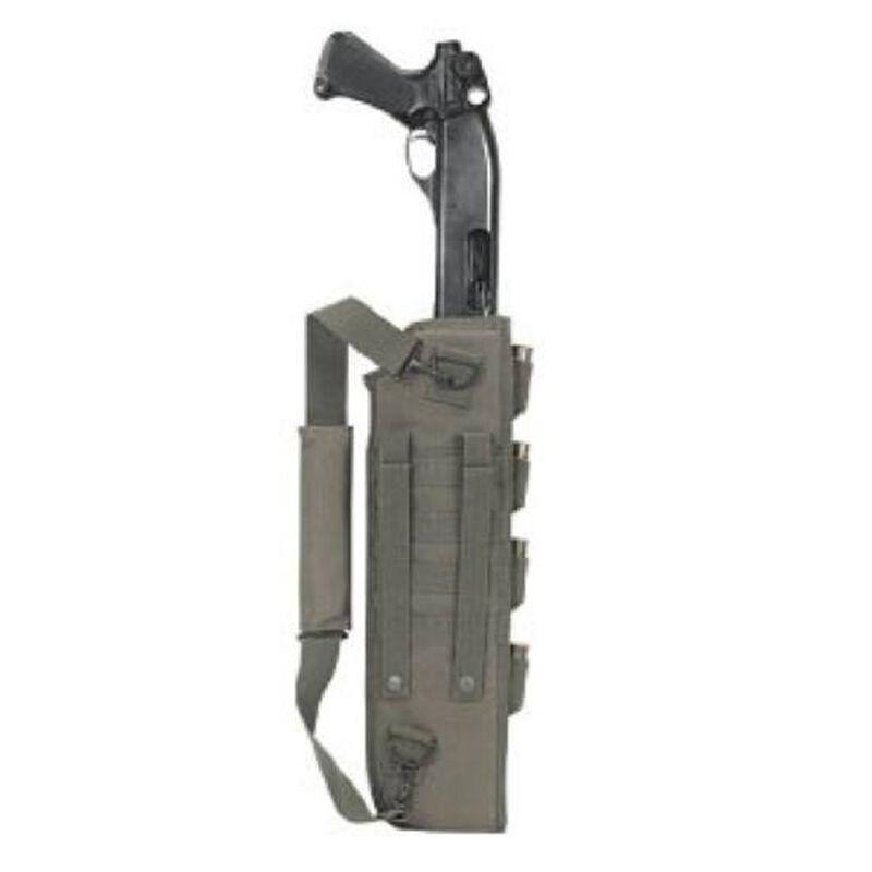 Voodoo Tactical Breacher's Shotgun Scabbard MOLLE Compatible Nylon Olive Drab Green 891604000