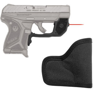 Crimson Trace Laserguard Ruger LCP II Red Laser with Pocket Holster 1x 1/3N Lithium Battery
