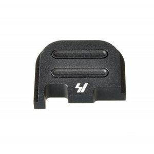 Strike Industries GLOCK Slide Cover Plate Fits GLOCK 42 Only V2 Button Aluminum Black