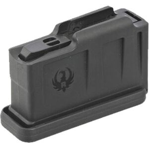 Ruger AI-Style Rifle Magazine 3 Rounds Short Action .308 Win/6.5mm CM/.243 Win  Polymer Black
