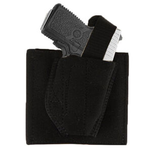 DeSantis Apache Ankle Holster Right Hand Fits Ruger LCP with Laser Elastic/Sheepskin Black