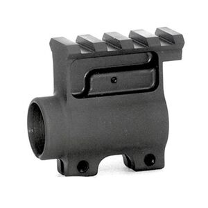 "Diamondhead USA AR-15 Receiver Height Gas Block with Rail Overhang.750"" Steel Black 3101"