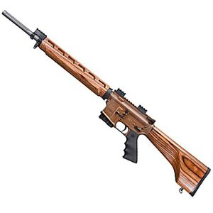 """Windham Weaponry VEX AR-15 .223 Remington Semi Auto Rifle, 20"""" Fluted Barrel 5 Rounds, Wood Stock"""