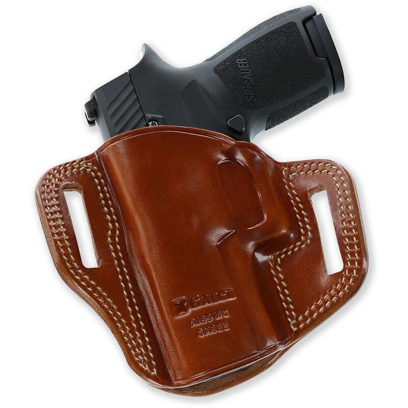 Galco Combat Master Belt Holster Glock 26 27 & 33 Right Hand Leather Black CM286B