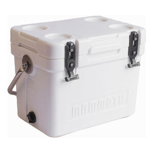 Mammoth Coolers Cruiser 30 Dry Ice Capable 27 qt White