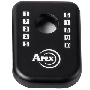 Apex Tactical Specialties J-Plate Magpul GLOCK Magazine Base Pads Aluminum Black