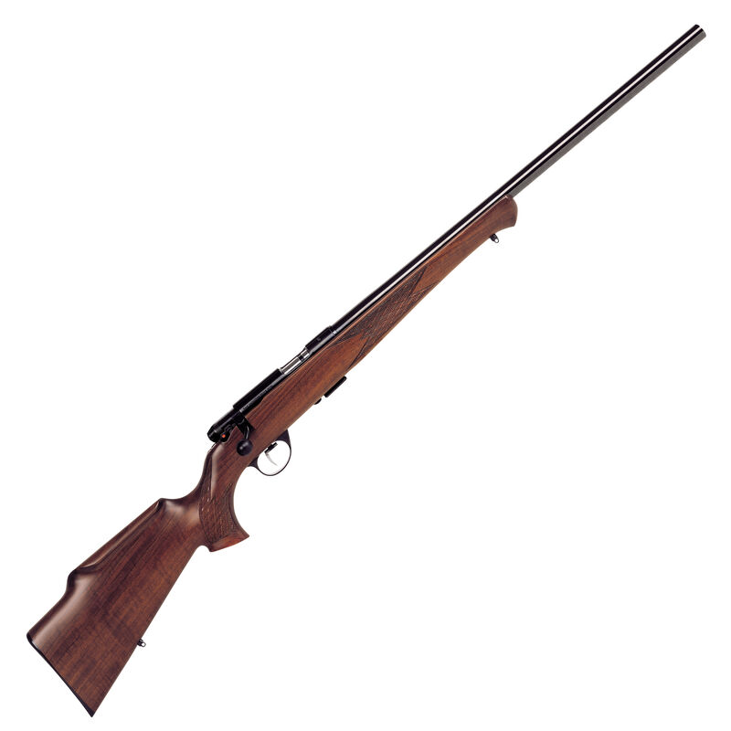"""Anschutz 1712 Silhouette Sporter Bolt Action Rifle .22 LR 21.6"""" Heavy Barrel 5 Rounds Two Stage Trigger Walnut Monte Carlo Stock Blued Finish 007594"""