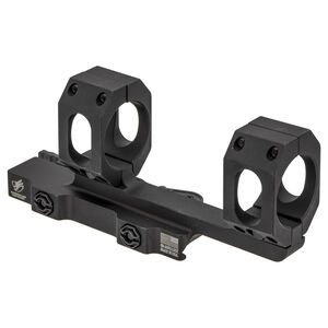"American Defense Recon 30mm Dual Ring Scope Mount With 2"" Offset Black AD-RECON-30-STD-TL"