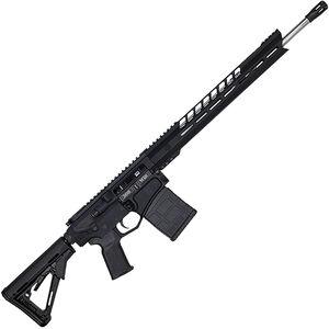 "Diamondback DB10 Black Gold Series .308 Win AR-308 Semi Auto Rifle 18"" Barrel 20 Rounds 15"" M-LOK Handguard Collapsible Stock Black Finish"