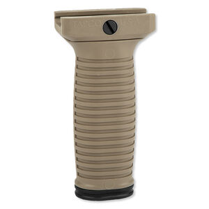 TAPCO INTRAFUSE Vertical Foregrip Polymer Flat Dark Earth 16787