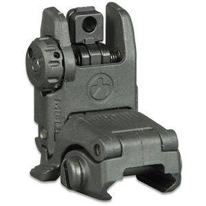 Magpul MBUS Gen 2 AR-15 Flip-Up Rear Sight Polymer Black MAG248BLK