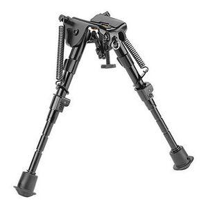 "Caldwell XLA Fixed Adjustable Bipod 6-9"" Swivel Stud Mount Black 379852"