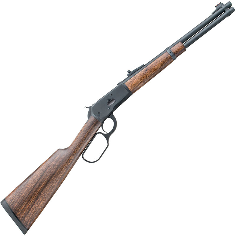 """Taylor's & Co 1892 Huntsman Carbine Lever Action Rifle .45 LC 16"""" Barrel 8 Rounds Skinner Rear Sight FO Front Sight Walnut Stock Blued"""