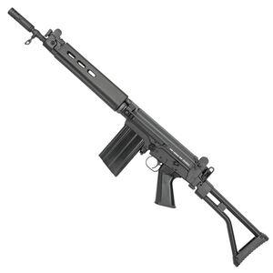 "DSArms SA58 Semi Auto Rifle .308 Winchester 16"" Barrel 20 Rounds Metric Style Magazine Pattern Glass Filled Nylon Pistol Grip/Hand Guard Side Folding Para Stock Black"