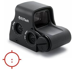 EOTech XPS3-2 Holographic Weapon Sight 65 MOA Ring and Two 1 MOA Dots CR123 Battery Picatinny Black Finish XPS3-2