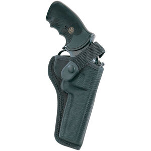 """AccuMold Sporting Holster 4"""" Barrels Size 4 Right Hand Polyknit Black"""
