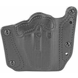 DeSantis Variable GRD Belt Slide Holster fits Springfield Hellcat Ambidextrous Leather Black
