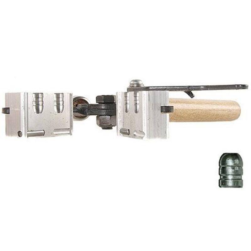 Lee Precision Double Cavity Mold Produces a  358 Diameter 125 Grain Flat  Nose Bullet