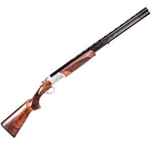 "American Tactical Imports Cavalry Sport SVE Over/Under Shotgun .410 Bore 26"" Vent Rib Barrels 3"" Chambers 2 Rounds Silver Nitride Receiver Walnut Stock Blued"