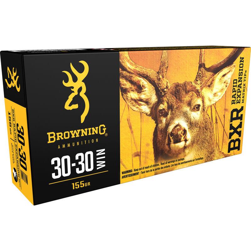Browning BXR .30-30 Winchester Ammunition 200 Rounds BXR 155 Grains B192130301