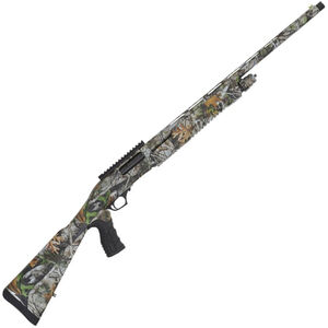 "TriStar Cobra II Turkey Pump Action Shotgun 12 Gauge 24"" Barrel 3"" Chamber 5 Rounds Fiber Optic Front Sight Synthetic Pistol Grip Stock Realtree Advantage Timber"