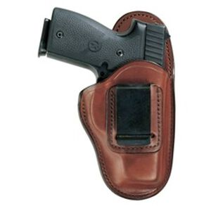Bianchi #100 Professional Inside Waistband Holster Right Handed Size 21 fits Kel Tec PF-9 Leather Russet 25938
