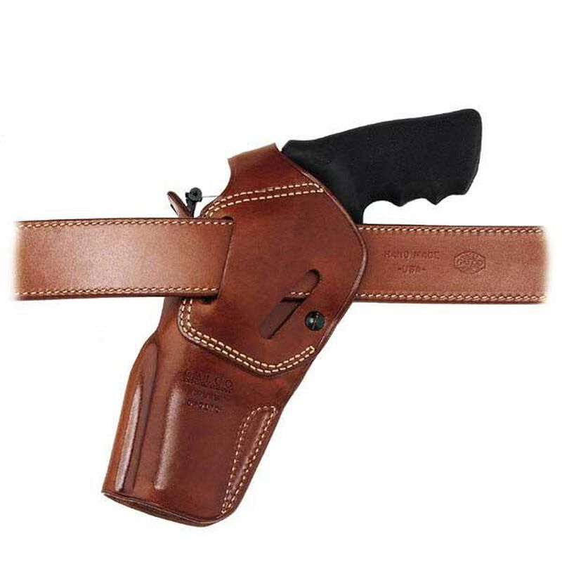 "D.A.O. Belt Holster Ruger Redhawk 5-1/2"" Barrel Right Hand Leather Tan"