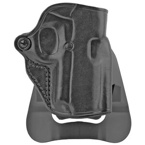 """Galco Speed Master 2.0 1911 3"""" Barrel Paddle Holster Right Hand Leather Black"""