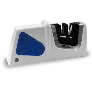 AccuSharp Compact Pull-Through Sharpener White and Black