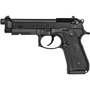"Beretta M9A1_22 .22LR Semi Auto Pistol 4.9"" Barrel 15 Rounds with Rail, Black"