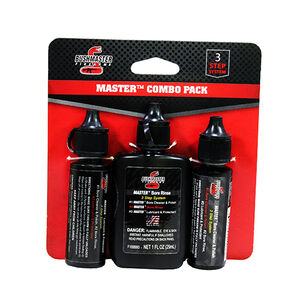 Bushmaster 3-Step Cleaning System Chemical Combo for Squeeg-E Systems