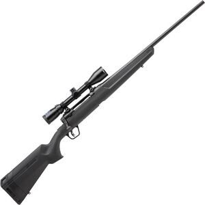 """Savage Axis II XP Package Bolt Action Rifle 6.5 Creedmoor 22"""" Barrel 4 Rounds with 3-9x40 Scope Matte Black Finish"""