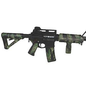 Matrix Diversified Industry AR-15 Magpul Furniture Kit Mil-Spec Polymer Tiger Stripe Green Camo Finish MAGMIL04-TS