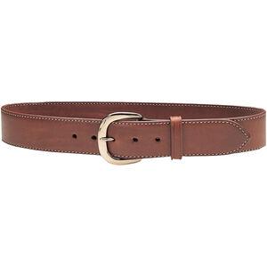 "Galco Gunleather SB2 Sport Belt 1.5"" Wide Brass Buckle Leather Size 34 Tan SB2-34"