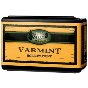 "Speer 6mm Caliber .243"" Diameter 75 Grain Varmint Hollow Point Bullet 100 Count 1205"